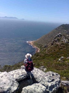 hiking in Cape Point nature reserve