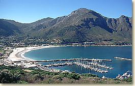 The village of Hout Bay