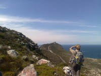 Looking towards Cape Point from Vasco Da Gama Peak