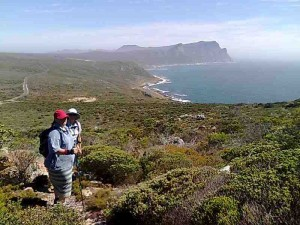 Hikng in Cape Point
