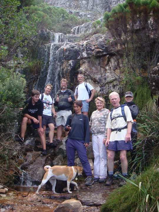 hiking above Hout Bay