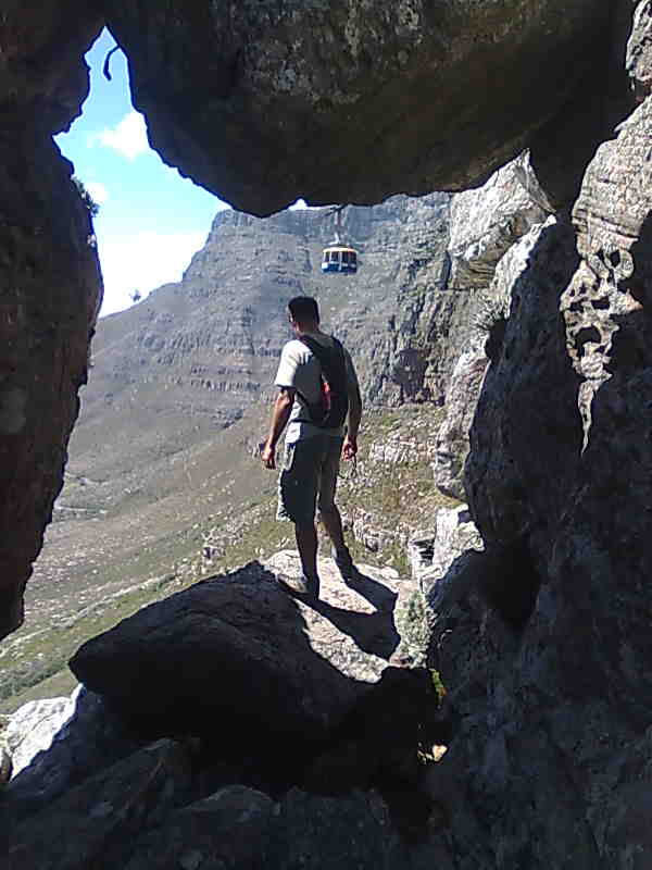 India Venster. Table Mountain