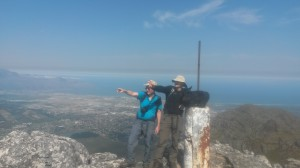 Hiking in the Cape winelands