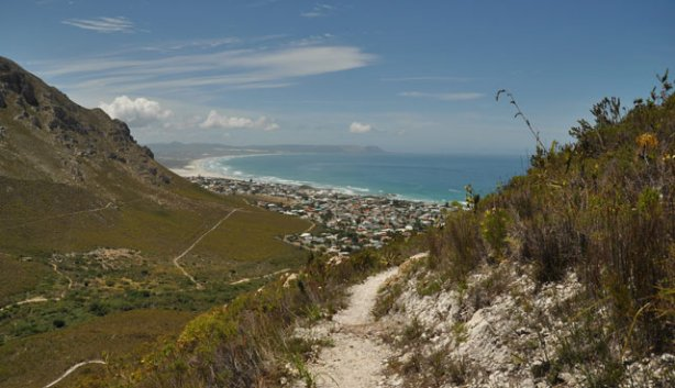 Hiking near Hermanus