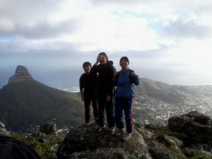 The India Venster hike on Table Mountain